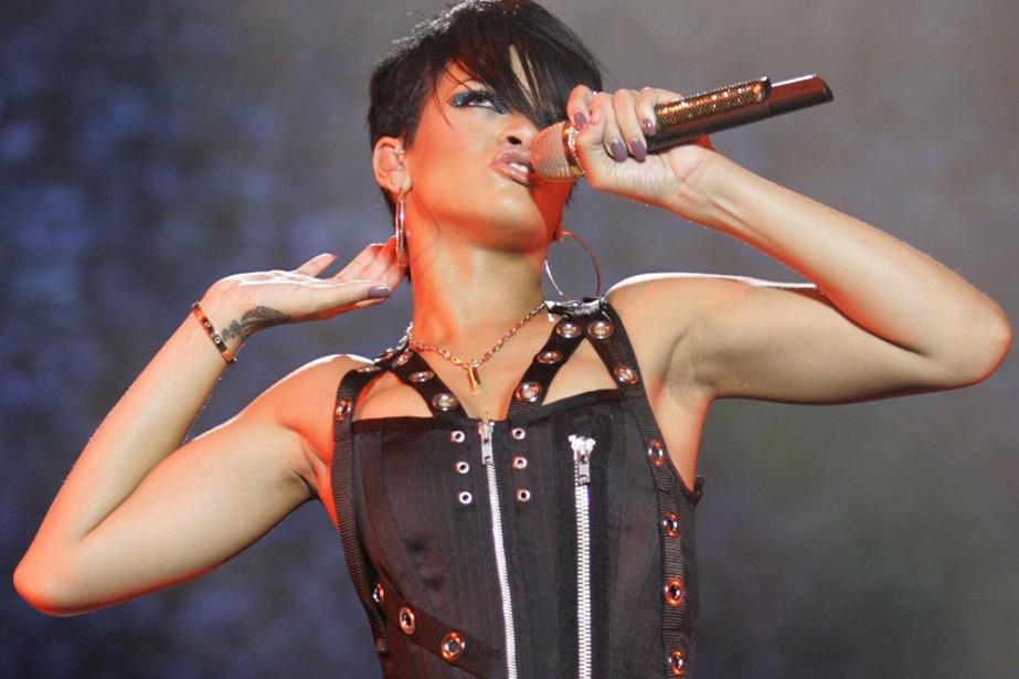 Rihanna... (Photo: AP)
