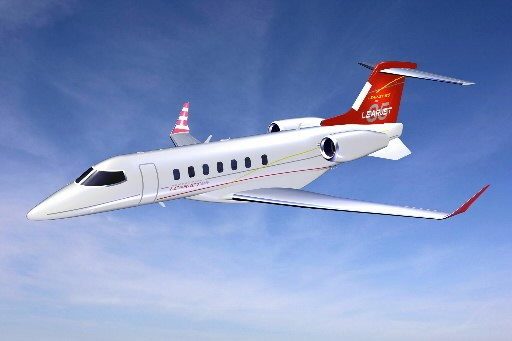 Le Learjet 85... (Photo: PC)