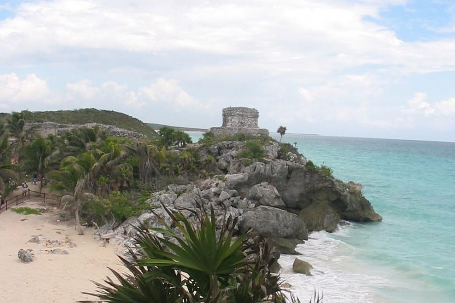 Point de vue sur la mer des Caraïbes... (Photo: Anne-Marie Voisard)