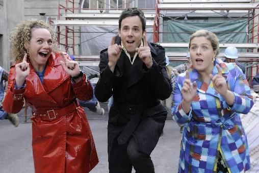Les acteurs de Tout sur moi ... (Photo fournie par Radio-Canada)