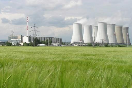 Une centrale nucléaire de la Slovaquie.... (Photo: Reuters)