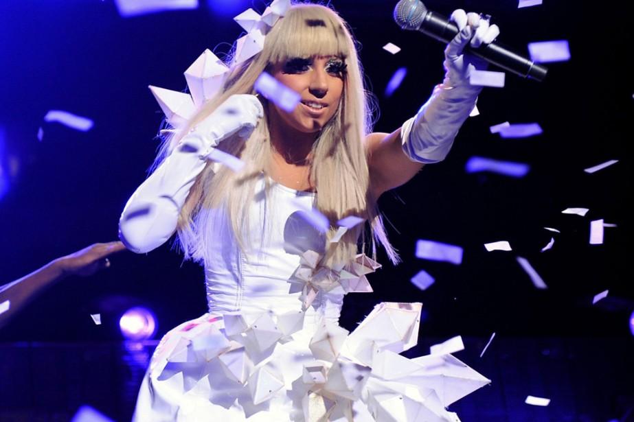 Lady Gaga... (Photo: AP)