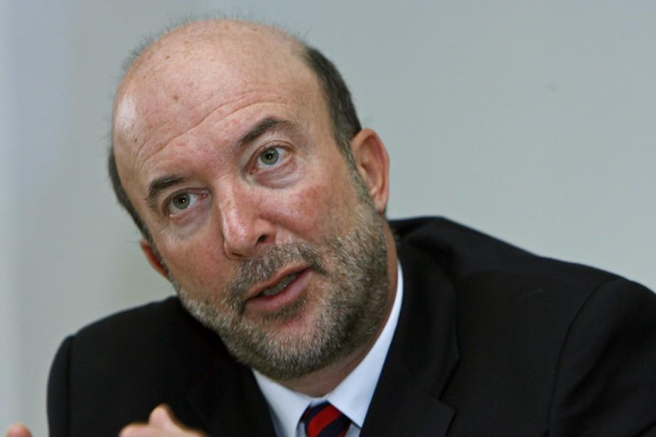 Luc Vinet, recteur de l'Université de Montréal, ne... (Archives La Presse)