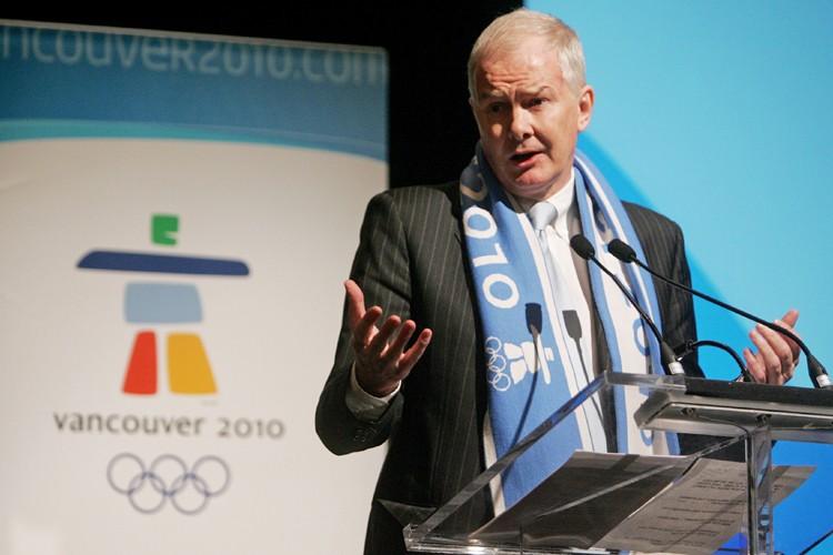 Le président du Comité organisateur des Jeux olympiques... (Photo: PC)