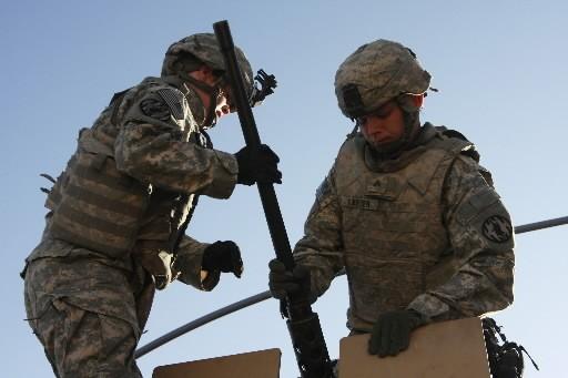 Des soldats américains en Irak.... (Photo: Reuters)