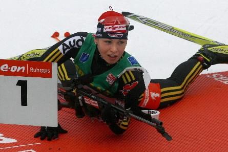 Magdalena  Neuner... (Photo: Reuters)