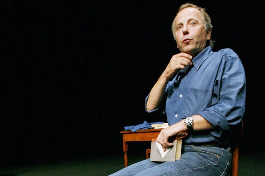L'acteur français Fabrice Luchini dans son one man... (Photo: Patrick Sanfaçon, La Presse)