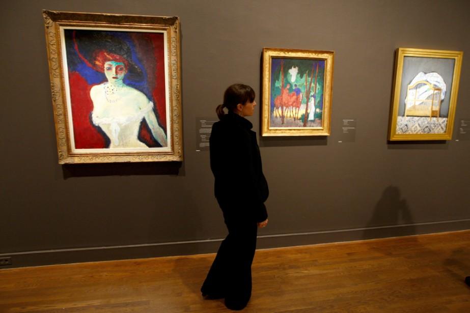 Le Musée des beaux-arts de Montréal propose 200... (Photo: Martin Chamberland, La Presse)