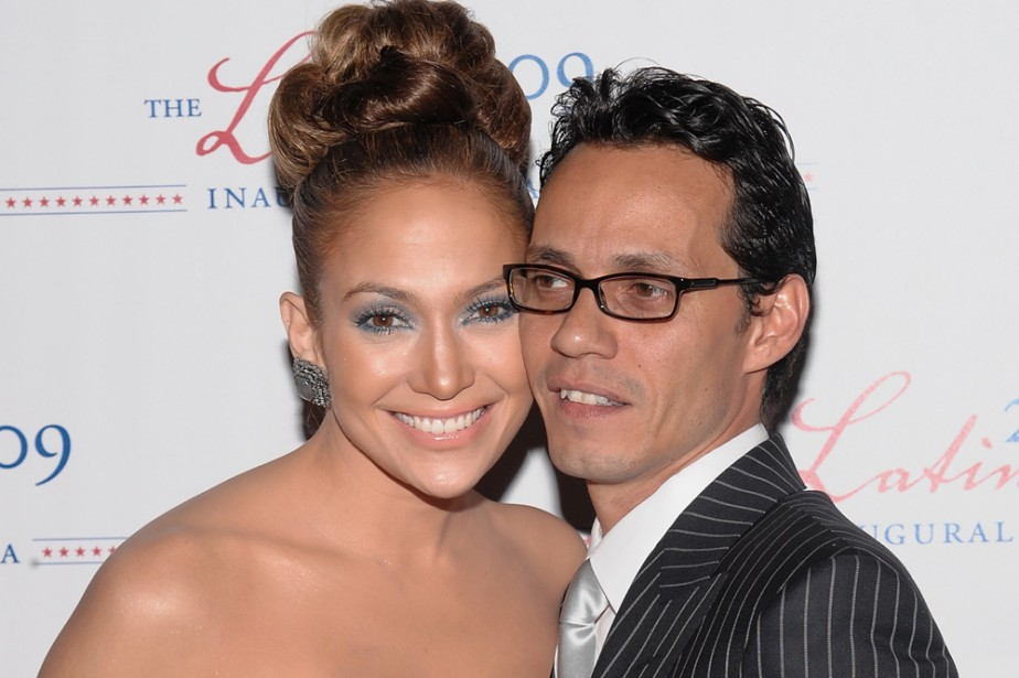 Jennifer Lopez et Marc Anthony... (Photo: AP)