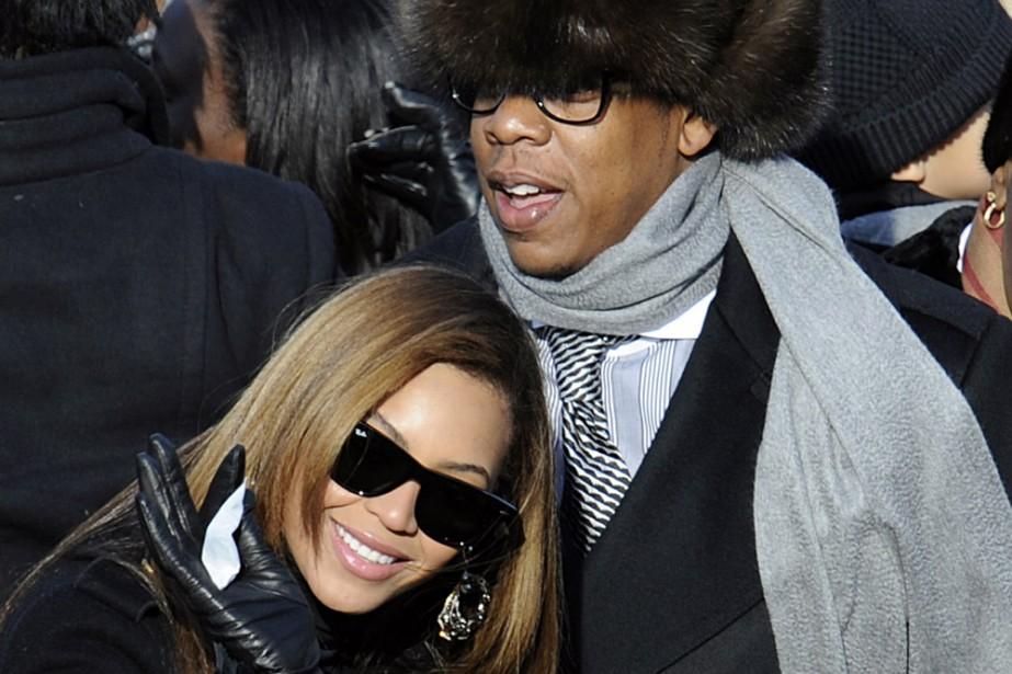 Jay-Z et Beyoncé... (Photo: AFP)
