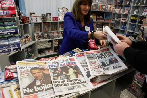 Les médias du monde entier ont fait de... (Photo: AP)