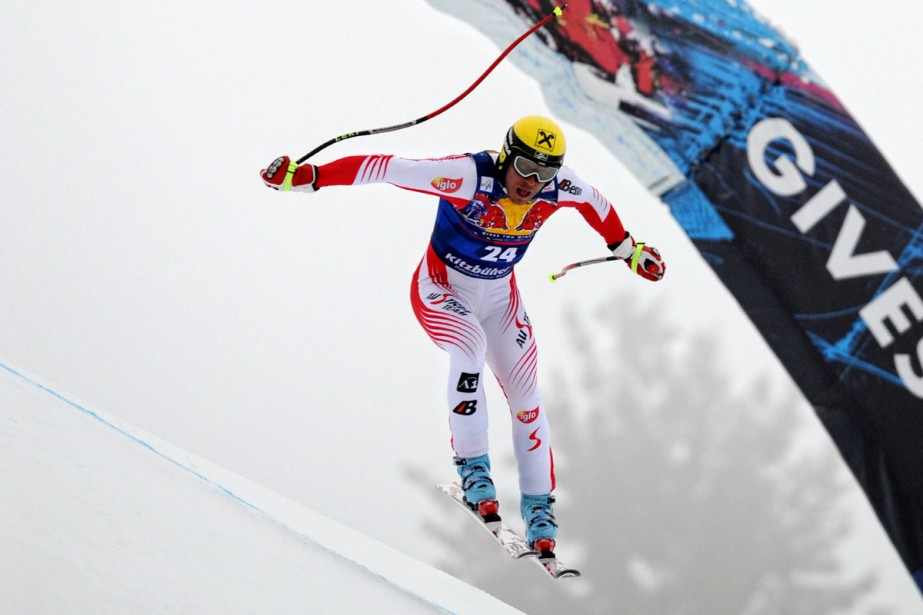 Michael Walchhofer... (Photo: AFP)