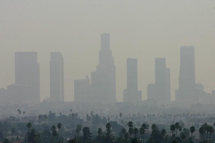 Une vue de Los Angeles, une des villes... (Photo: AFP)