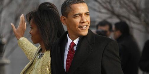 Michelle et Barack Obama... (Photo AP)