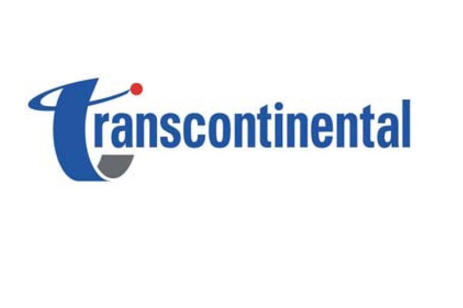 Le logo de Transcontinental...
