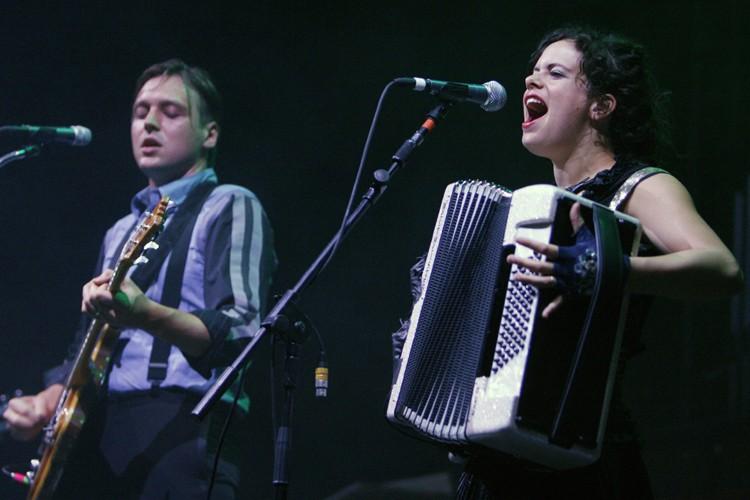 Win Butler et Régine Chassagne, du groupe Arcade... (Photo: Robert Skinner, La Presse)