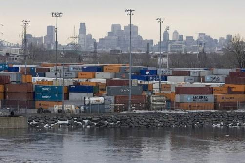 Le port de Montréal.... (photo: François Roy, La Presse)