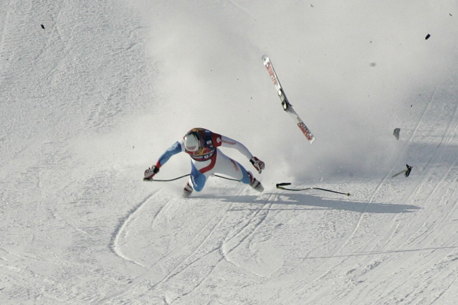 Daniel Albrecht... (Photo: Reuters)