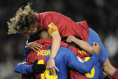 Le FC Barcelone a signé samedi sa 17e victoire en 20 journées de... (Photo: AP)