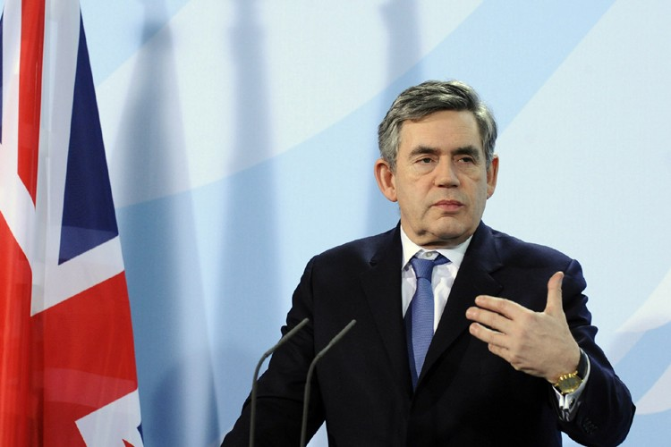 Gordon Brown... (Photo: AFP)
