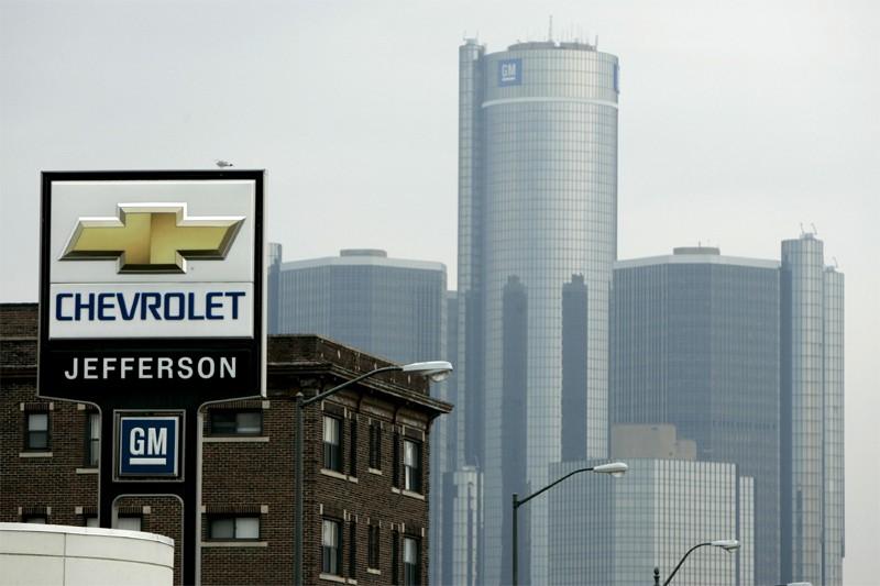 Le siege social de GM à Detroit... (Bloomberg)