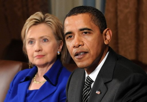 Hillary Clinton et Barack Obama... (Photo: Bloomberg)
