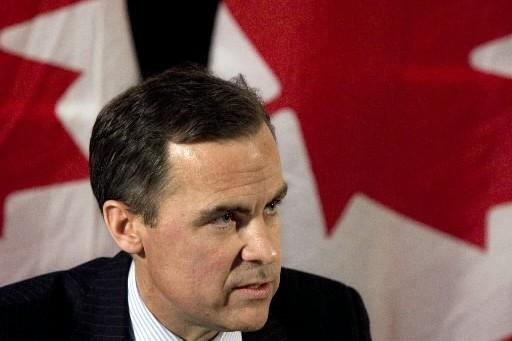 Mark Carney, gouverneur de la Banque du Canada... (CP)