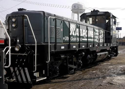 Le fabricant de locomotives a besoin de l'aide des... (Photo: Associated Press)