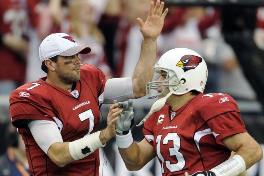 Matt Leinart (à gauche)... (Photo: AP)