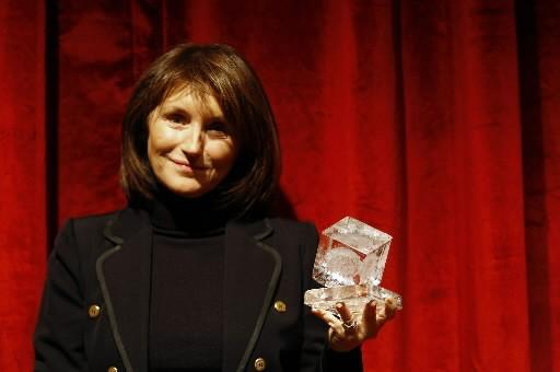 Cécilia Attias, ex-madame Sarkozy.... (Photo: AFP)
