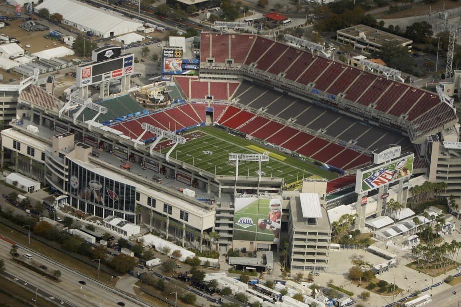 Le stade Raymond James, à Tampa... (Photo: AP)