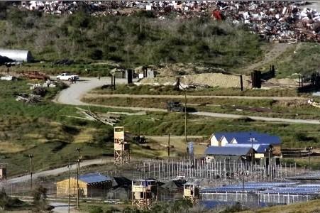 La prison de Guantanamo à Cuba.... (Photothèque le Soleil)