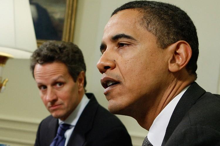 Barack Obama recevait dans le Bureau ovale son... (Photo: AP)