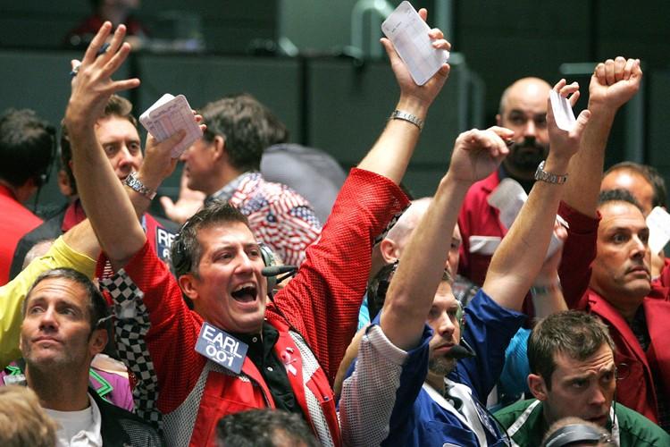 Wall Street a terminé en forte baisse jeudi:... (Photo: Bloomberg)