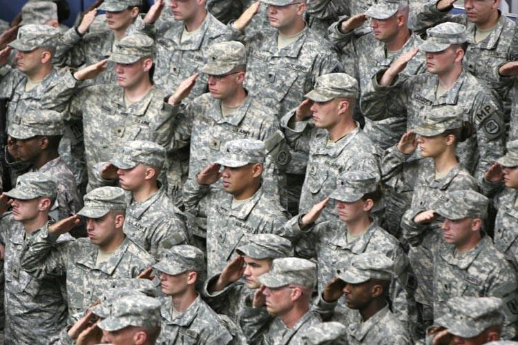 Le taux de suicides dans l'armée de Terre américaine a atteint un... (Photo: AFP)