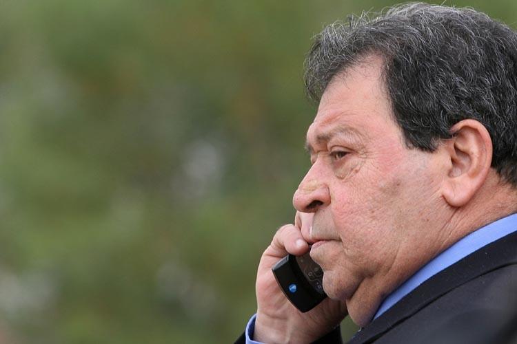 L'ex-ministre israélien de la Défense Benjamin Ben-Eliezer.... (Photo: AFP)