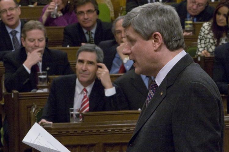 Le parti de Stephen Harper et celui de... (Photo: PC)