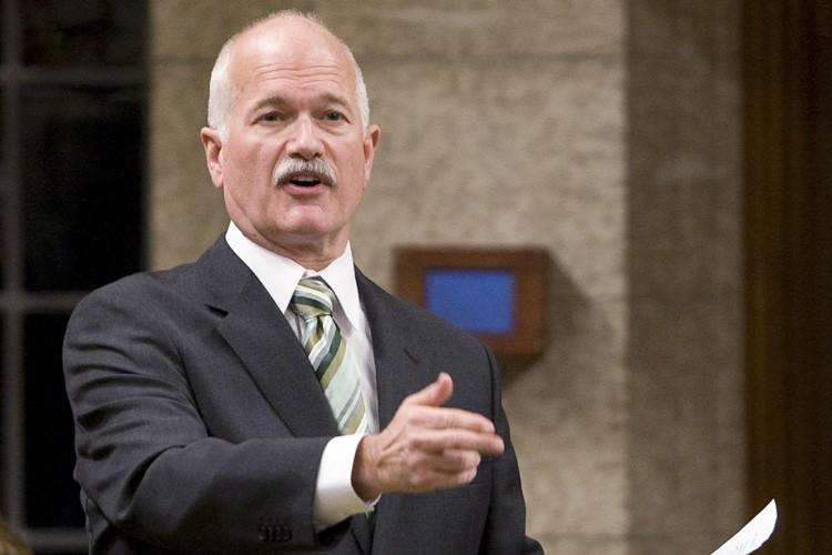 Le chef du NPD, Jack Layton.... (Photo: PC)