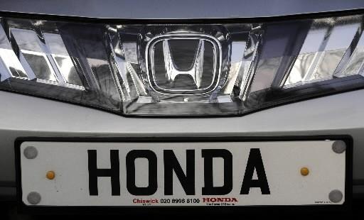 Le bénéfice du constructeur automobile japonais Honda s'est... (Photo: Reuters)