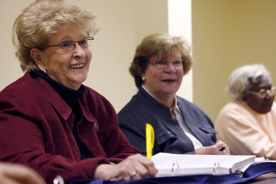 Suzanne Chouinard, à droite, obtiendra bientôt son premier... (Photo: Robert Mailloux, La Presse)