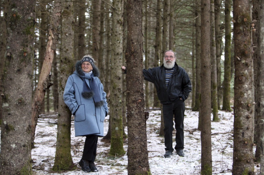 Louise Grondin et Jacques Gauthier.... (Photo: Martin Chamberland, La Presse)