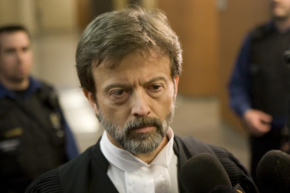 Le procureur de la Couronne, Randall Richmond, s'est... (Photo: David Boily, La Presse)
