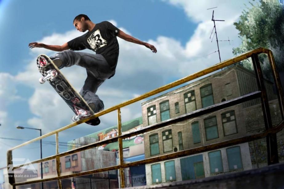 Extrait du jeu Skate 2...