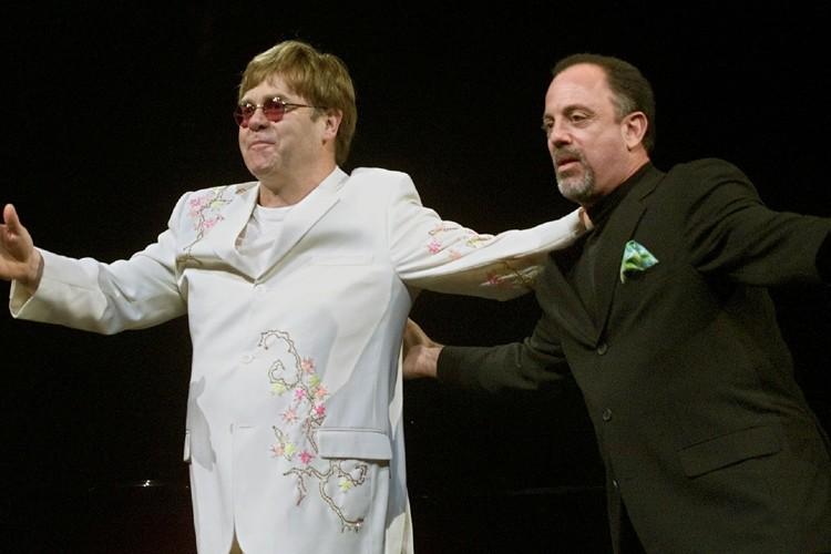 Elton John et Billy Joel seront en spectacle... (Photo: Reuters)