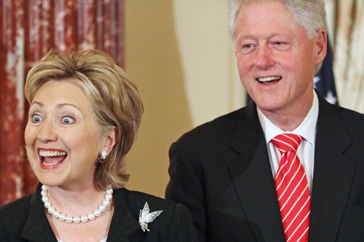 La secrétaire d'Etat américaine, Hillary Clinton, a provoqué des... (Photo: AP)