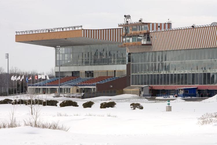L'hippodrome de Montréal est le seul au Québec... (Photo: Alain Roberge, La Presse)