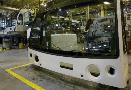 Nova Bus inaugurera bientôt une usine d'assemblage final... (Photo: David Boily, La Presse)