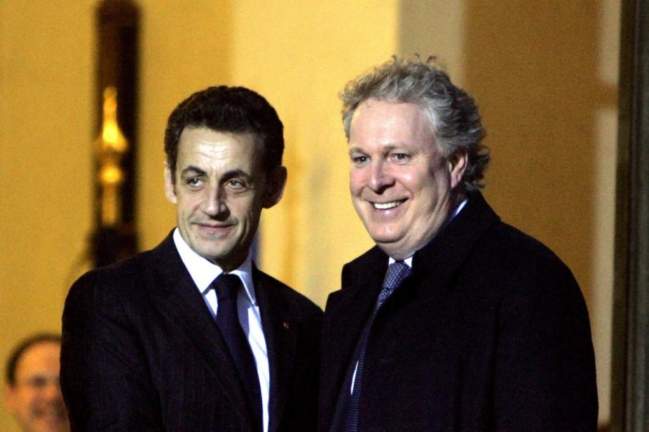 Le président français Nicolas Sarkozy a plaidé en... (Photo AP)
