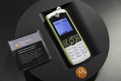 L'équipementier de télécoms américain Motorola a annoncé... (Photo: Reuters)