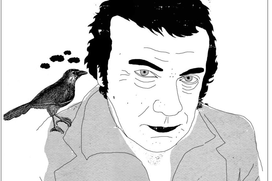 Pierre Lebeau me rejoint au... (Illustration: Francis Léveillée, La Presse)